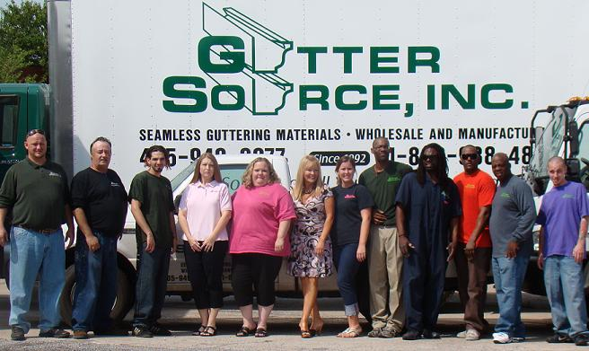 The faces of Customer Service at Gutter Source, Inc.